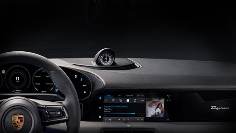 2020 Porsche Taycan Gets Built-In Apple Music, Three Years of Free Data