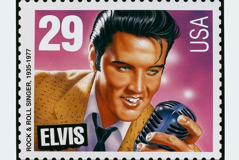 us stamps, elvis presley