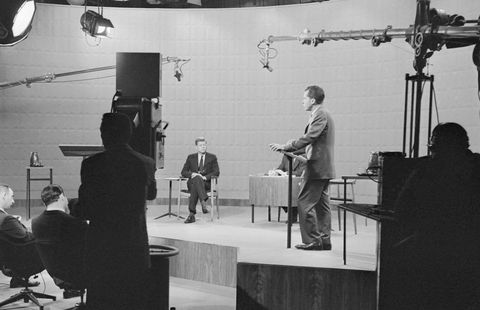 Presidential Debate Between Kennedy and Nixon
