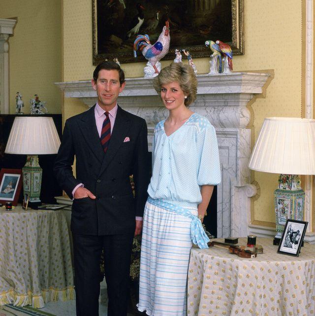 diana and charles at home kensington palace