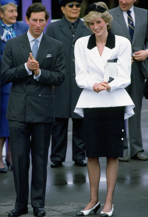charles and diana canada