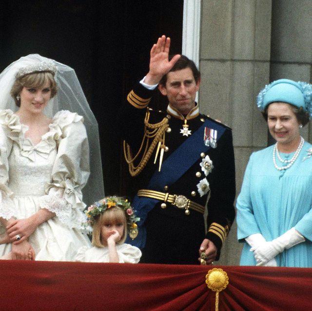 チャールズ皇太子とダイアナ妃の結婚式