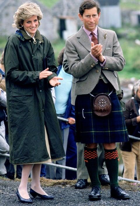 Diana And Charles Western Isles Visit