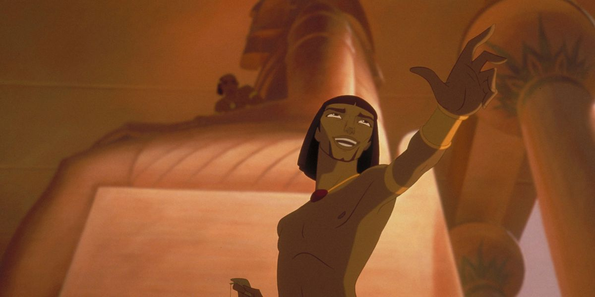 The Prince of Egypt is now a West End musical – but 'Playing With the Big Boys' missed out