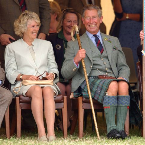 The Prince Of Wales & Camilla Parker Bowles At The Mey Highland Games