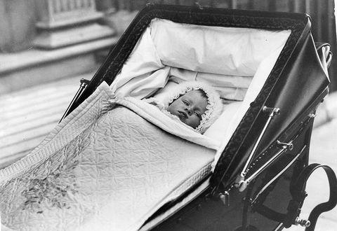 Princess Elizabeth As A Baby