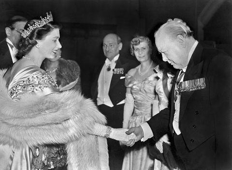 queen elizabeth winston churchill prime minister uk