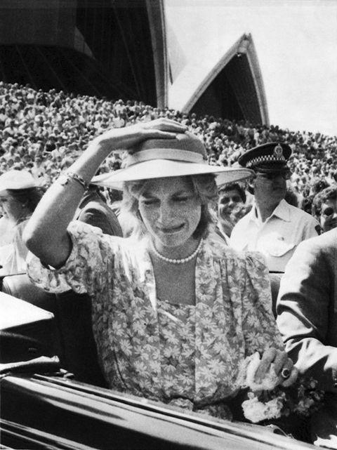 royal tour of australia, 1983,