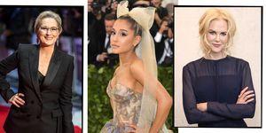 The Prom cast Meryl Streep Ariana Grande Nicole Kidman