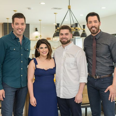 """HGTV """"The Property Brothers"""" Drew and Jonathan Scott Season 14 Kitchen with Two Islands"""