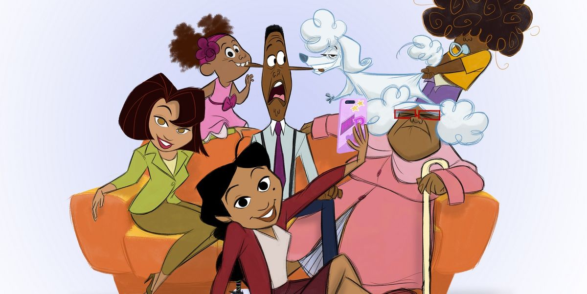 """The First Photos for """"The Proud Family: Louder and Prouder"""" Disney+ Reboot Are Here"""