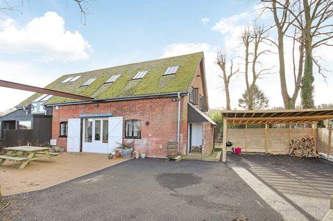 Converted Victorian pump house with Scandi-style interiors for sale in Winchester