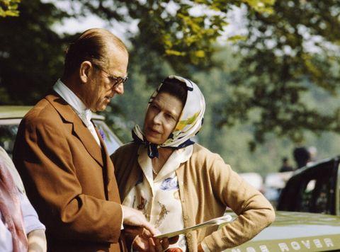 queen and philip in windsor