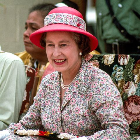 the queen in tuvalu