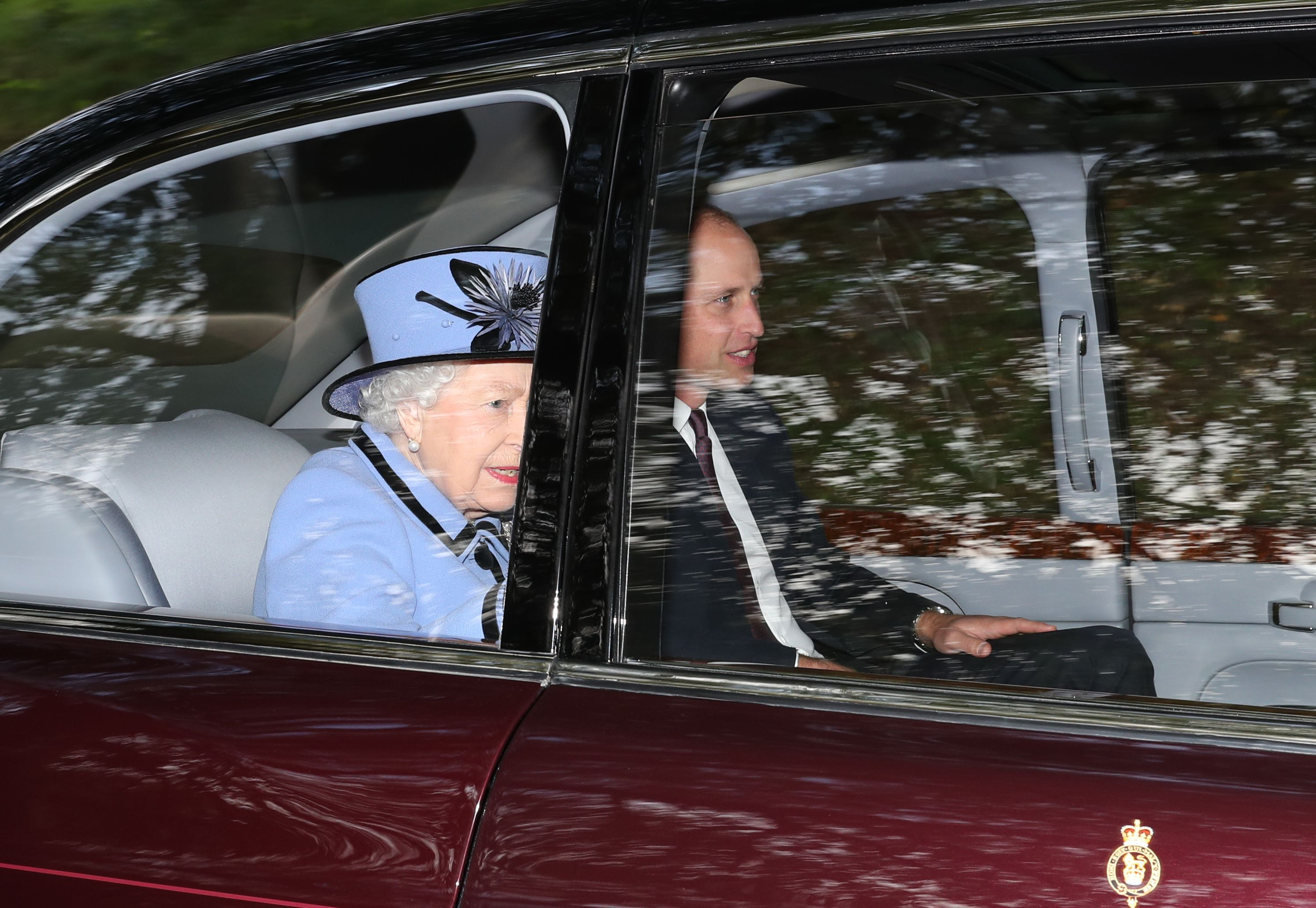Prince William Just Made a Surprise Visit to Balmoral to Attend Church with the Queen