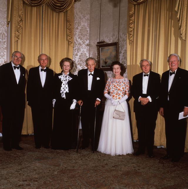 Queen Elizabeth Has Worked With 13 Prime Ministers During Her Reign. Here She Is With All of Them.