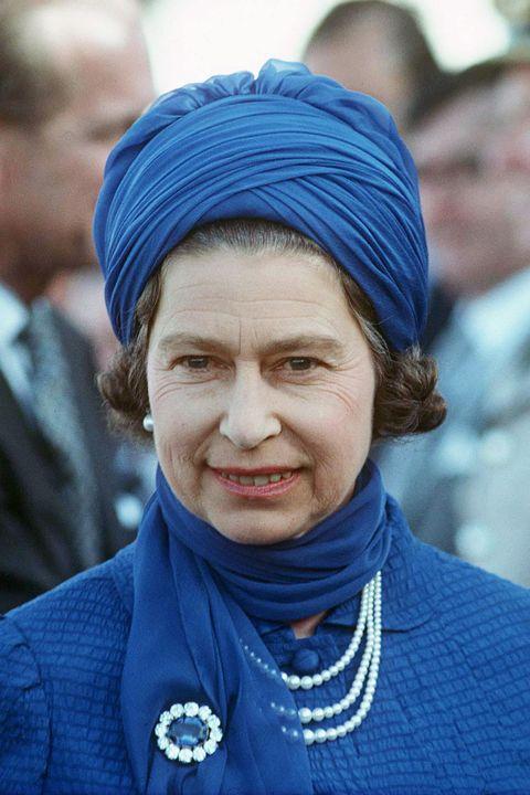 queen turban hat