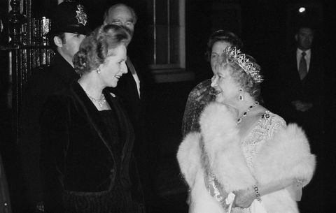 margaret thatcher meets the queen mother