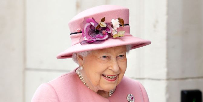 The Queen honours Wales with subtle brooch as she steps out in pink