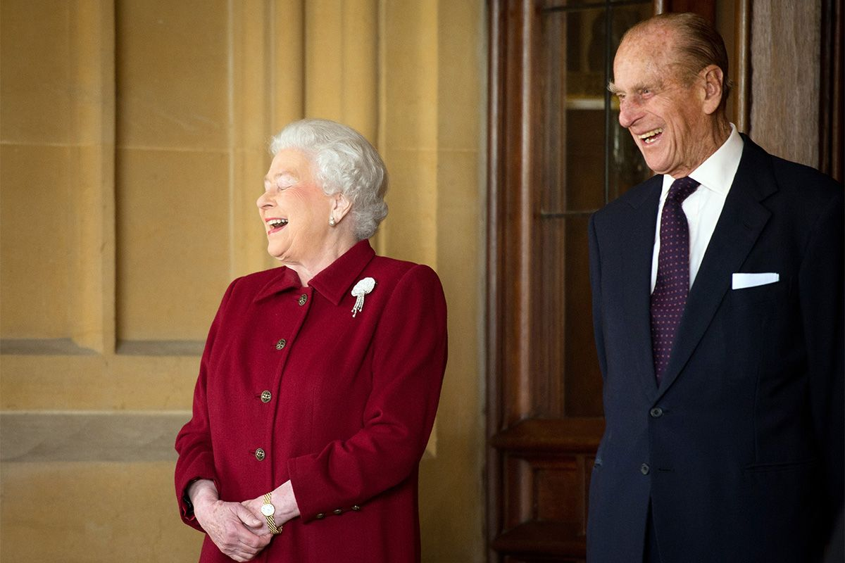 20 times the Queen and Prince Philip looked happier than ever