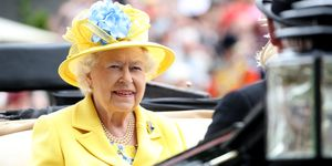 Queen Elizabeth II at the Royal Ascot 2018
