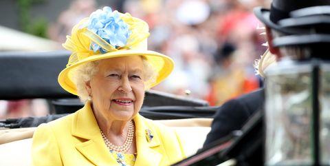 Queen Elizabeth II At The Royal Ascot 2018