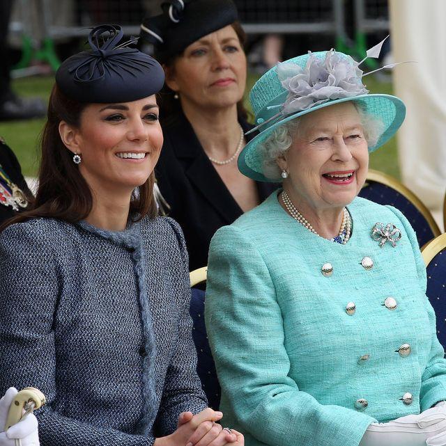 queen kind words kate middleton