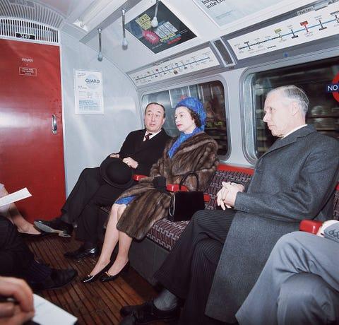 Queen Travels on Underground