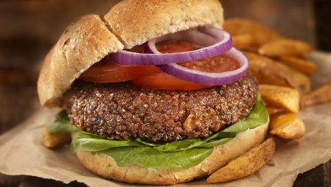 the quinoa burger