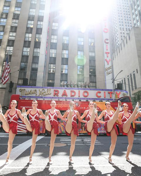 The Radio City Rockettes Perform On Sixth Avenue