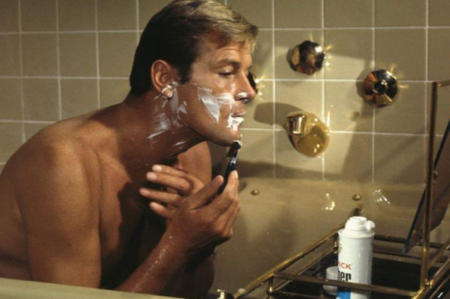 male model grooming routine