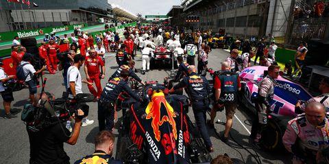 F1 La Fia Restringe El Acceso A La Parrilla Antes De La Carrera