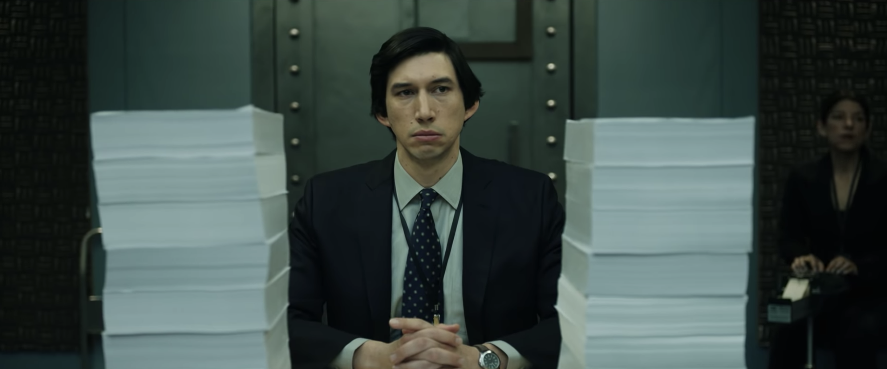Star Wars: The Rise of Skywalker's Adam Driver investigates 9/11 in chilling first look at new thriller