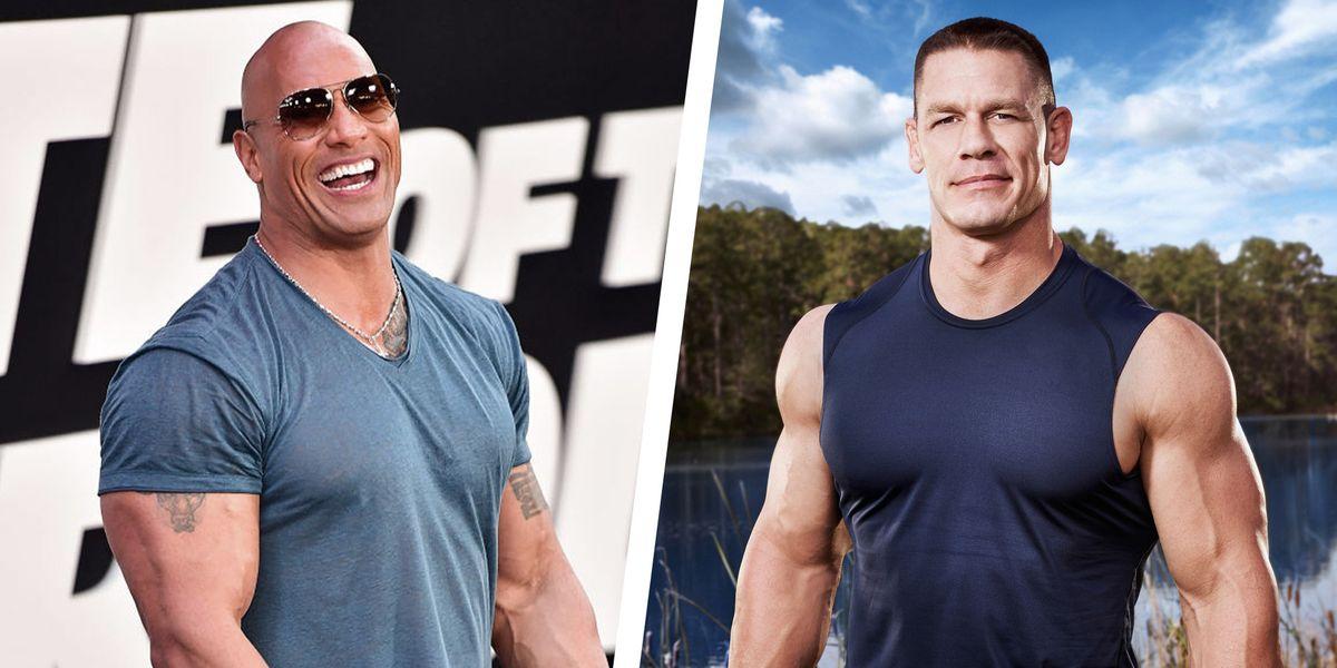 "John Cena Shares Career Advice He Got From Dwayne ""The ..."
