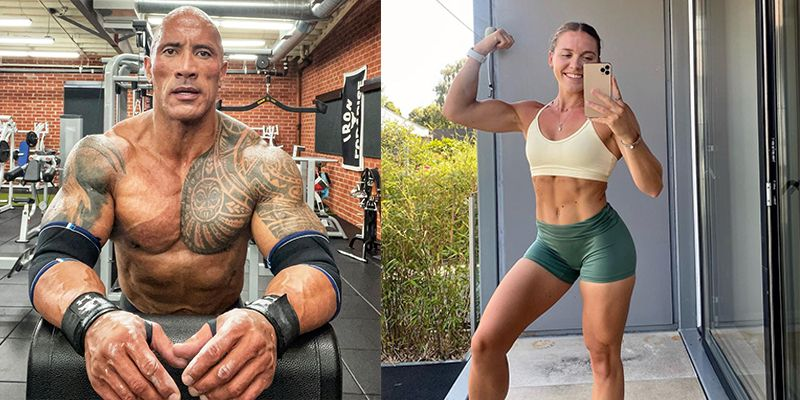 A Fitness Model Tried The Rock's 50-Set Workout and It Took Her 1.5 Hours to Finish