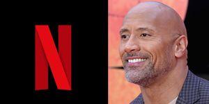 The rock Netflix