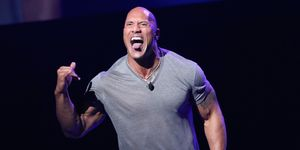 The Rock no pierde peleas