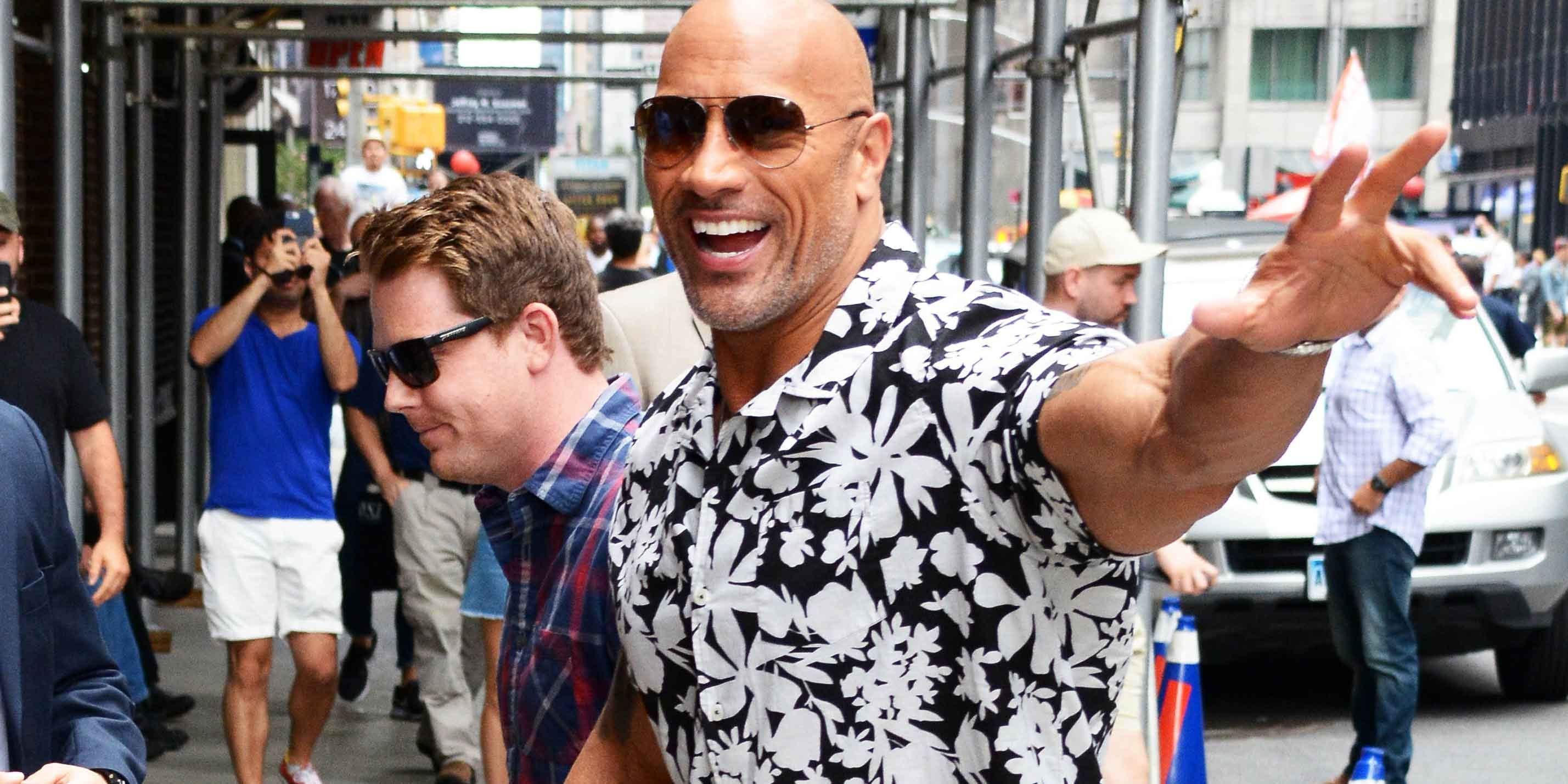 a6a5254df5897e Dwayne  The Rock  Johnson s Perfect Summer Shirt Can Be Yours