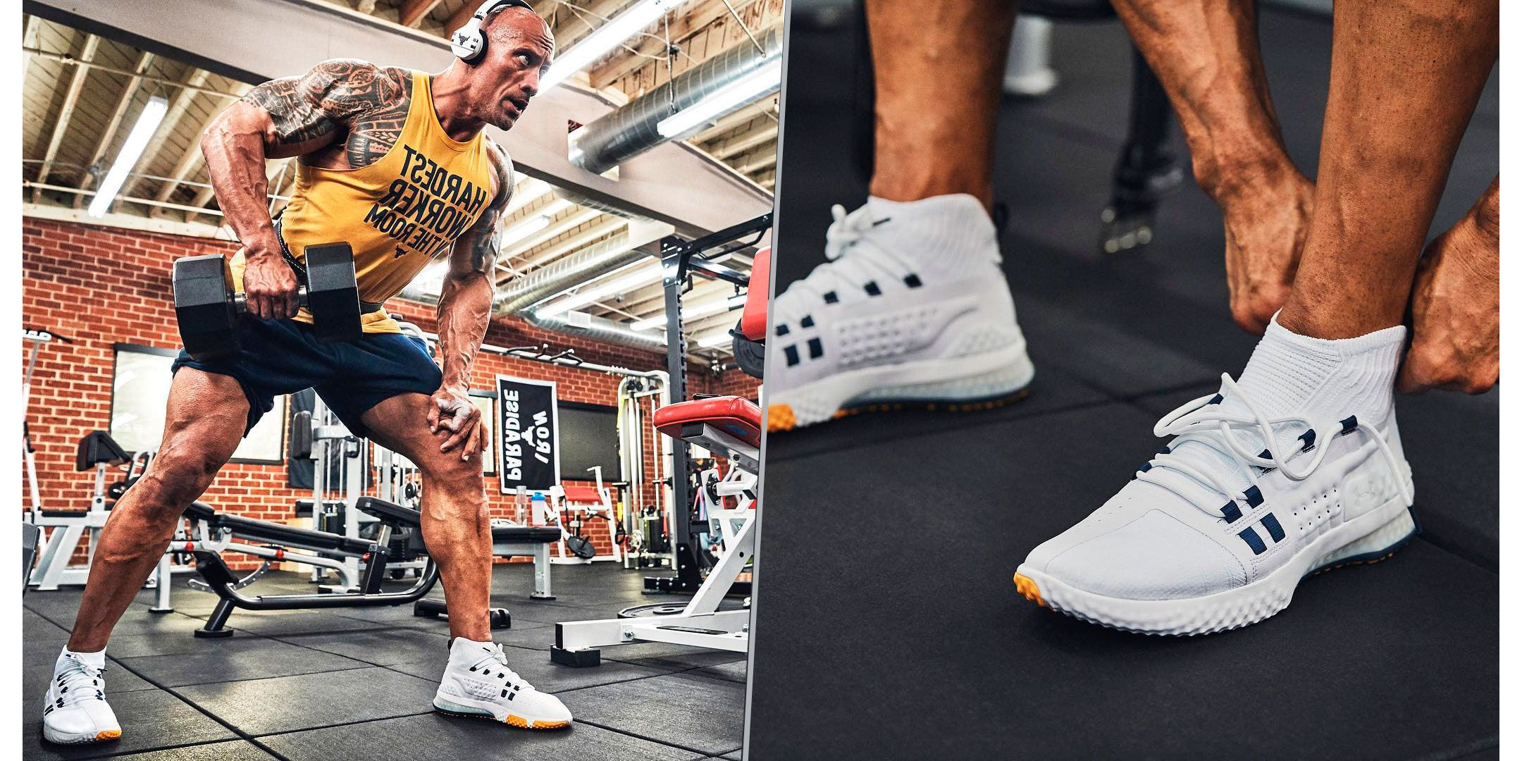 zapatos under armour the rock johnson grey