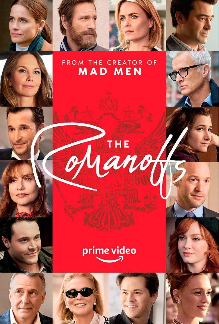 Afiche oficial de 'The Romanoffs'. Crédito: Prime Video