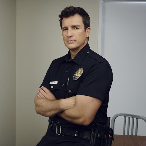 the rookie cast nathan fillion