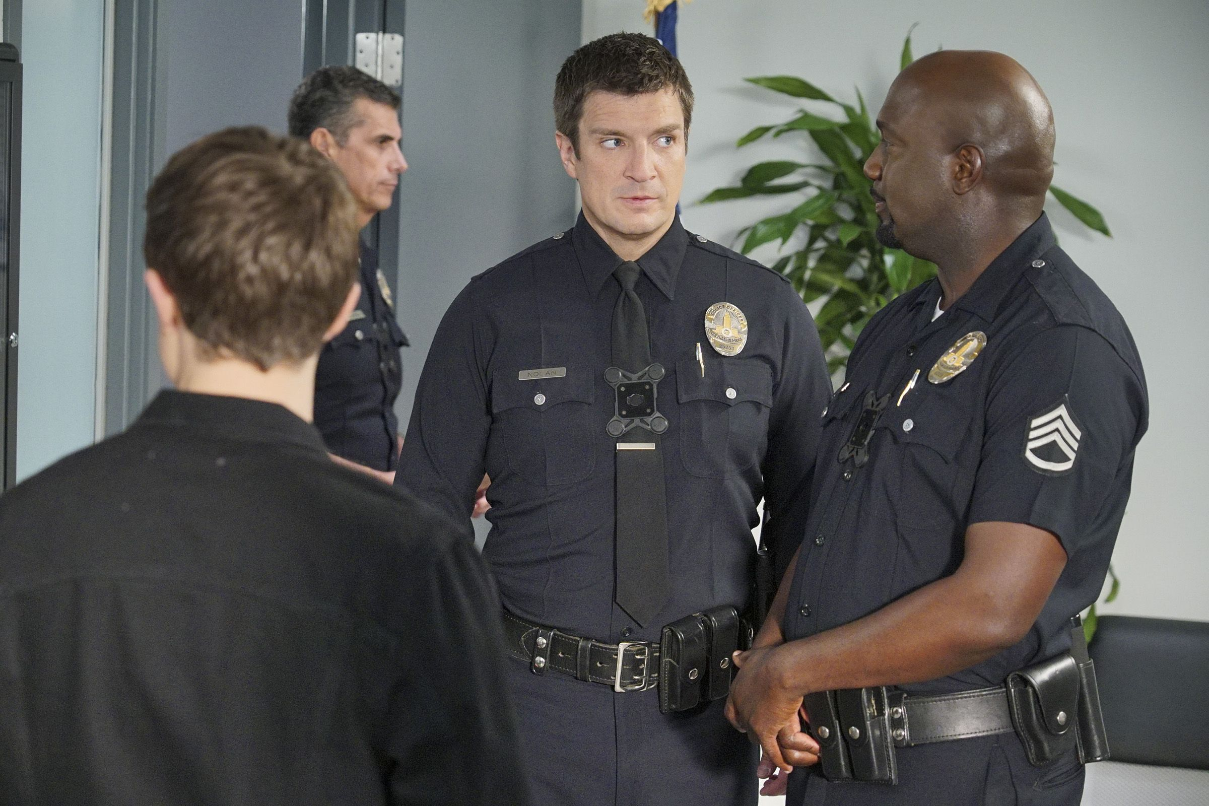 The Rookie Season 2 - Nathan Fillion's The Rookie Show Cast