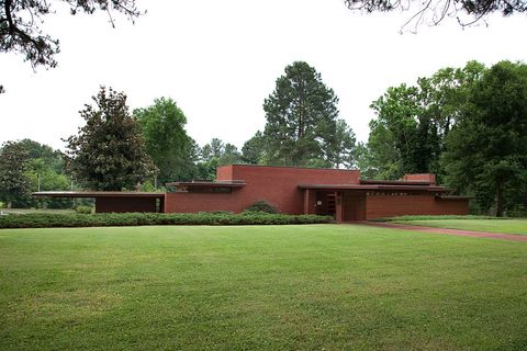 The Rosenbaum House, Florence, Alabama