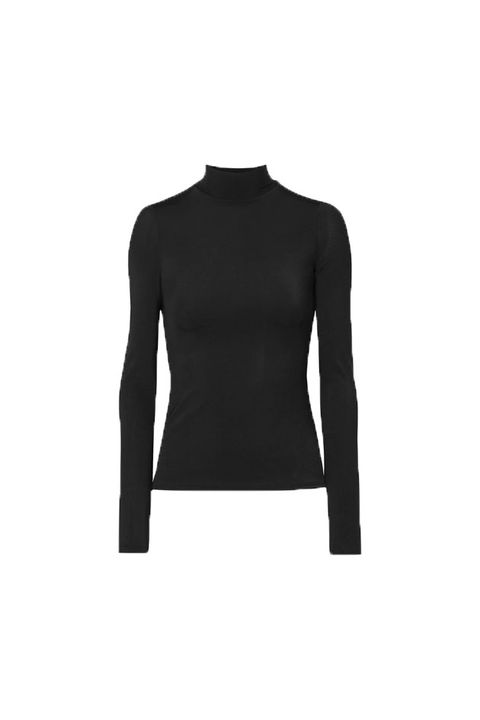 Clothing, Long-sleeved t-shirt, Sleeve, Black, Shoulder, Neck, T-shirt, Sweater, Jersey, Outerwear,