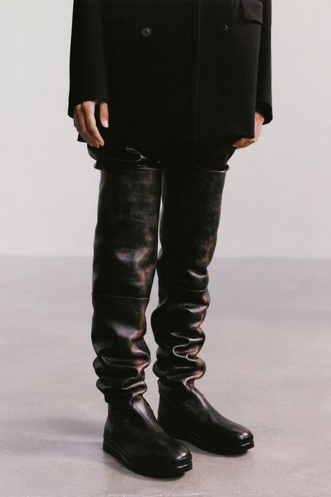 the row hoge laarzen
