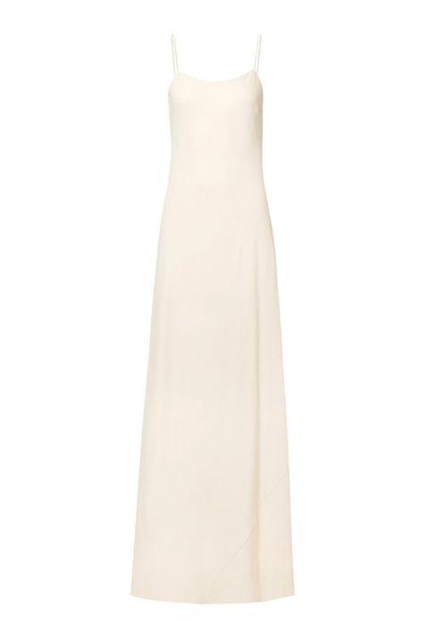 Minimal wedding dress inspired by meghan markle