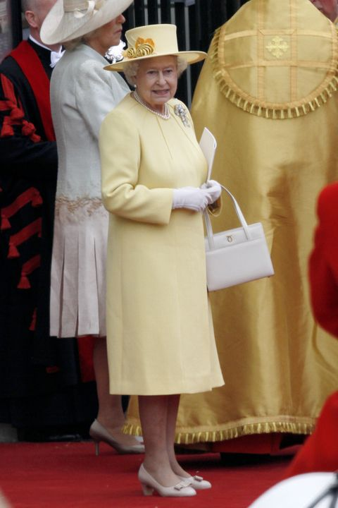 QUEEN ELIZABETH II The Royal Wedding Prince William & Catherine Middleton Westminster Abbey, London, UK April 29, 2011 ��