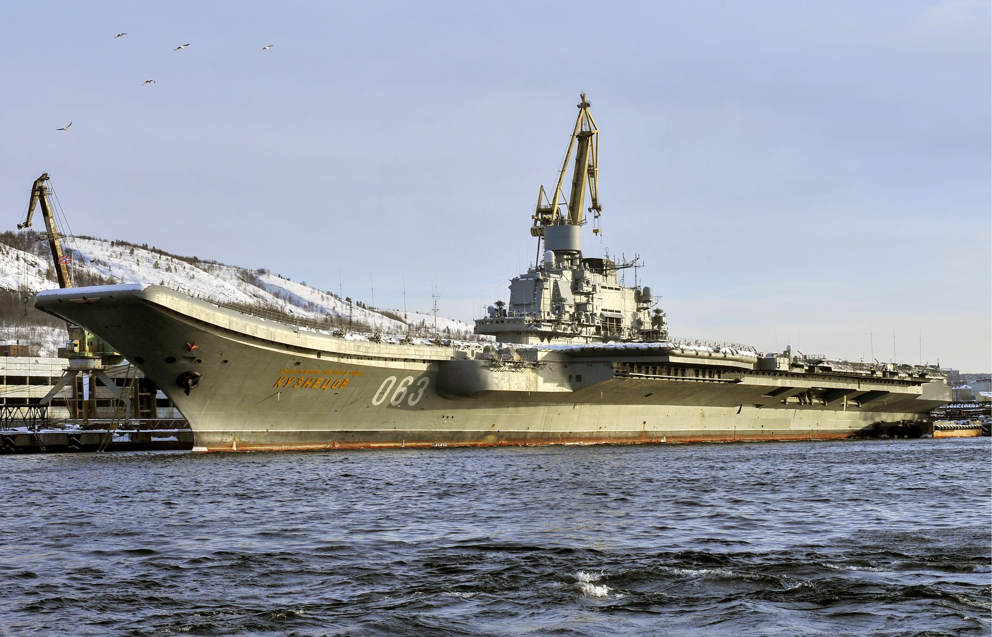 Russia's Admiral Kuznetsov Aircraft Carrier Could Be Scrapped