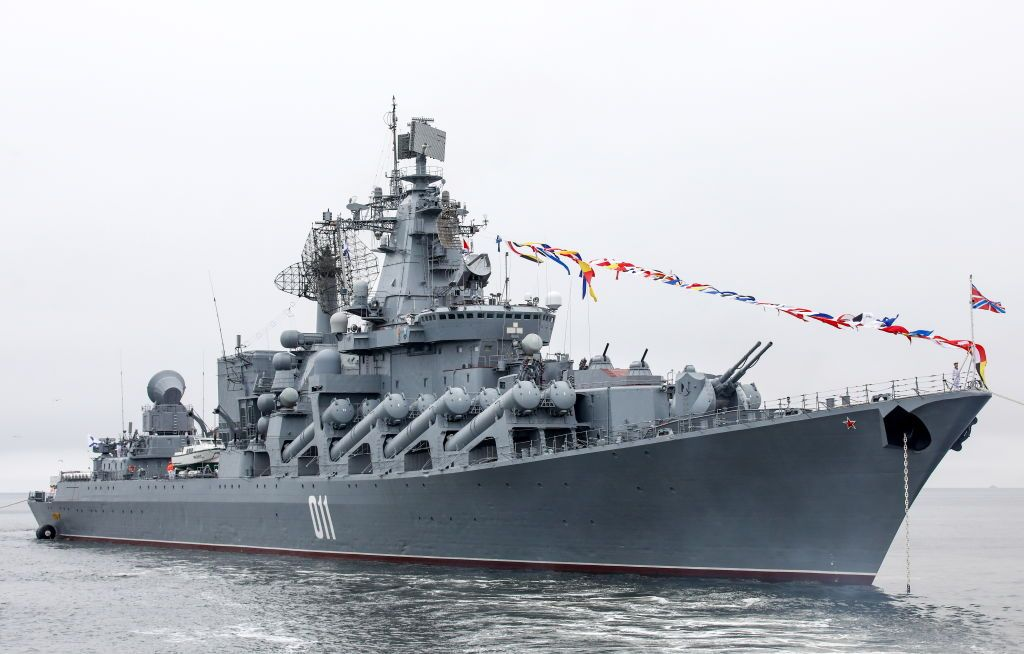 Seven Russian Warships Are Doing Something Weird Near Hawaii