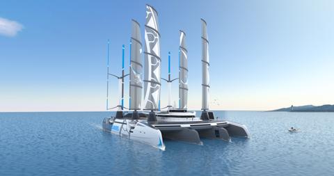 The Manta, el barco que recogerá plástico del océano